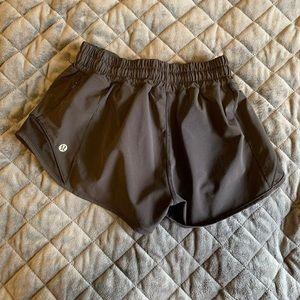Lulu black hotty hot shorts